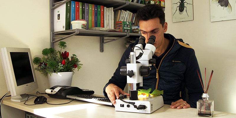 analisi al microscopio dipra service